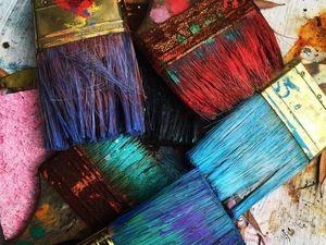 Какие материалы мы используем для масляной живописи. Ярмарка Мастеров - ручная работа, handmade.