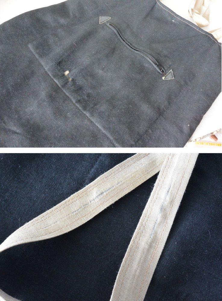 Реставрация льняной сумки., фото № 2