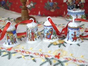 Рождественские колокольчики года  Hutschenreuther. Ярмарка Мастеров - ручная работа, handmade.