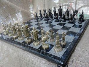 АКЦИЯ!!! 17.08. - 30.08.2017 - скидка 10% на эксклюзивные шахматы. Ярмарка Мастеров - ручная работа, handmade.