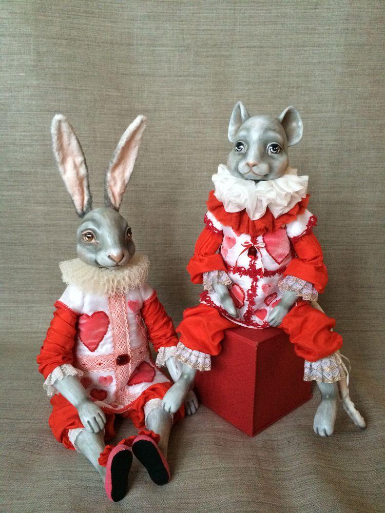 победитель, белый кролик