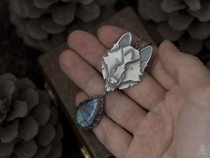 Видео для колье Серый ветер. Ярмарка Мастеров - ручная работа, handmade.