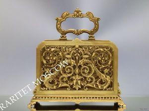 Раритетище Салфетница бронза латунь Франция 15. Ярмарка Мастеров - ручная работа, handmade.