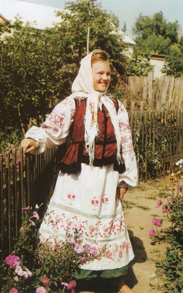 костюм воронежский