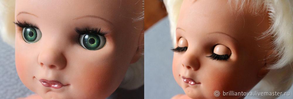 Как перепрошивать волосы кукле