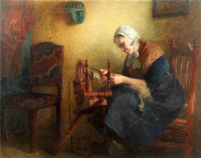 Когда есть чем заняться — стареть некогда: душевные картины о бабушках-рукодельницах, фото № 9