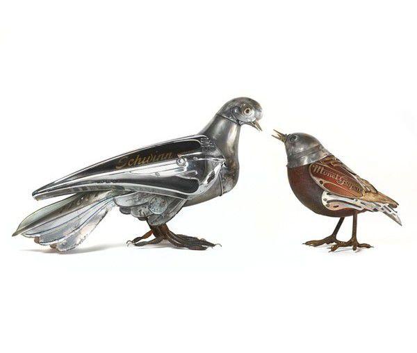 Металлически скульптуры Эдуарда Мартине, фото № 3