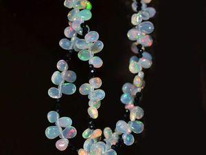 50% скидка на ожерелье из опала класса люкс !. Ярмарка Мастеров - ручная работа, handmade.