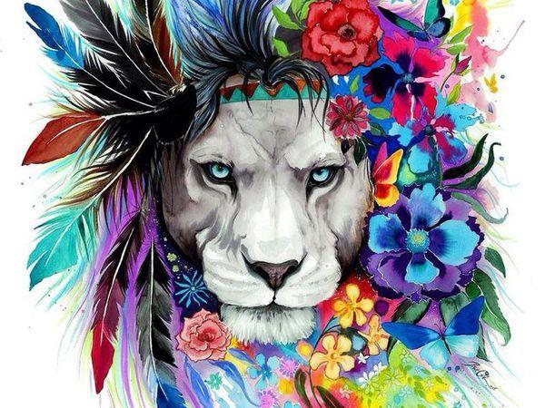 Тотемные животные: духи-хранители. Часть 1. Волк, Медведь и Лев. | Ярмарка Мастеров - ручная работа, handmade