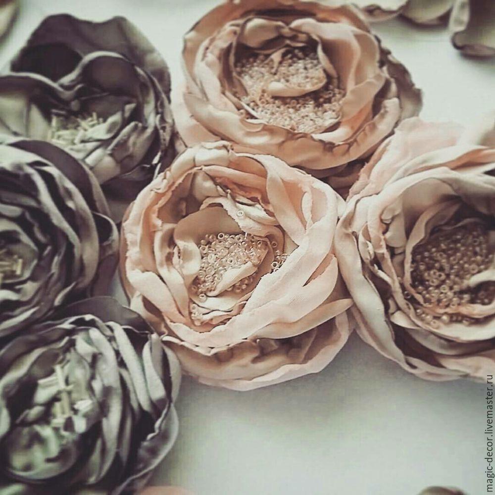 цветы для платья