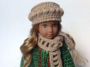 Вяжем зимний комплект для куклы. Ярмарка Мастеров - ручная работа, handmade.