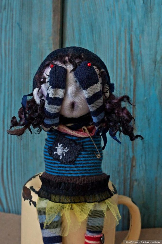 кукла монстрик