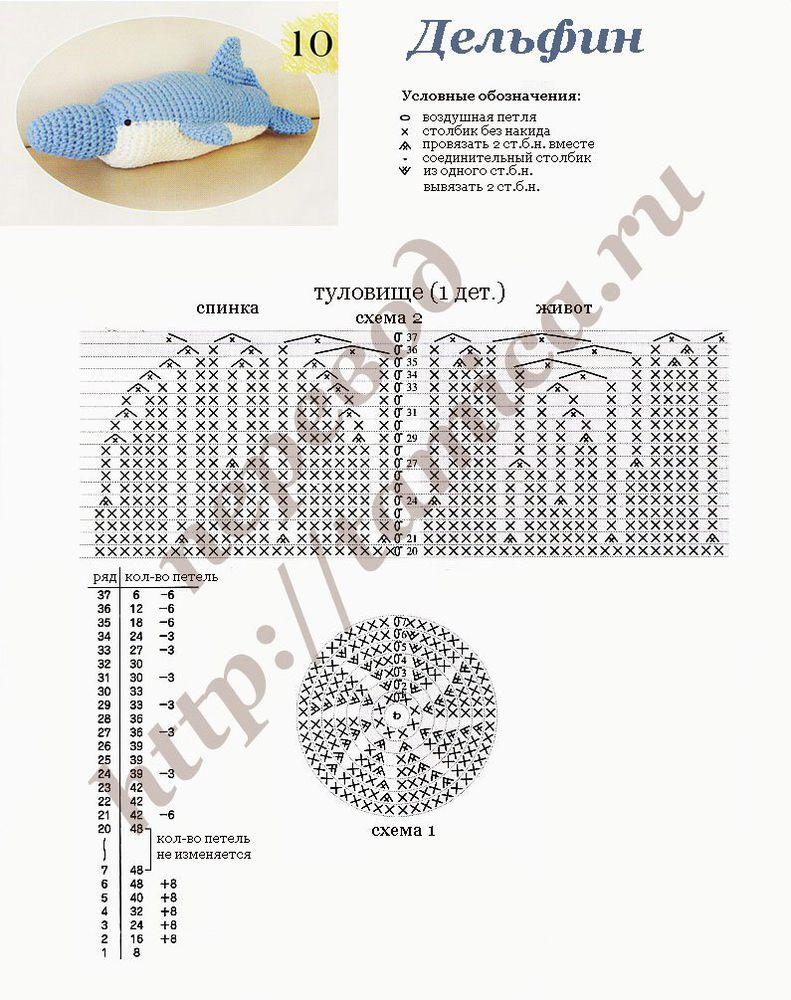 схема осьминога