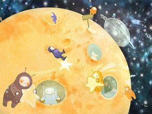 Планеты в коридоре затмений. Астропрогноз Shivashaktimala. Ярмарка Мастеров - ручная работа, handmade.