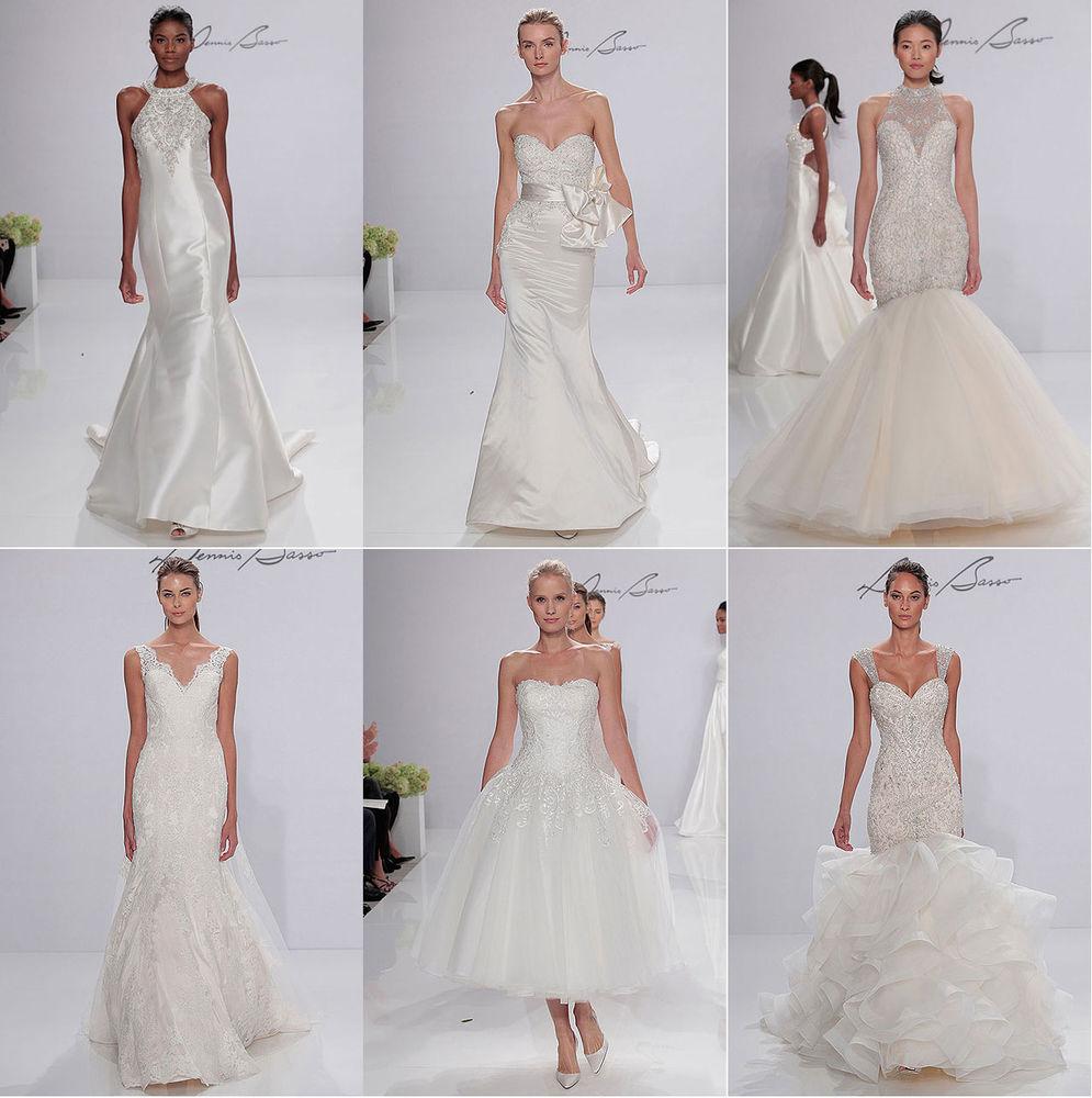 Неделя свадебной моды в Нью-Йорке: 100 лучших подвенечных платьев, фото № 2