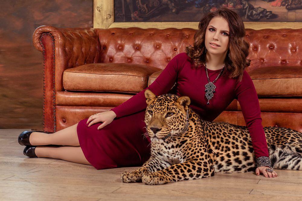 можете фотосессия с леопардом есть особо гнетущая