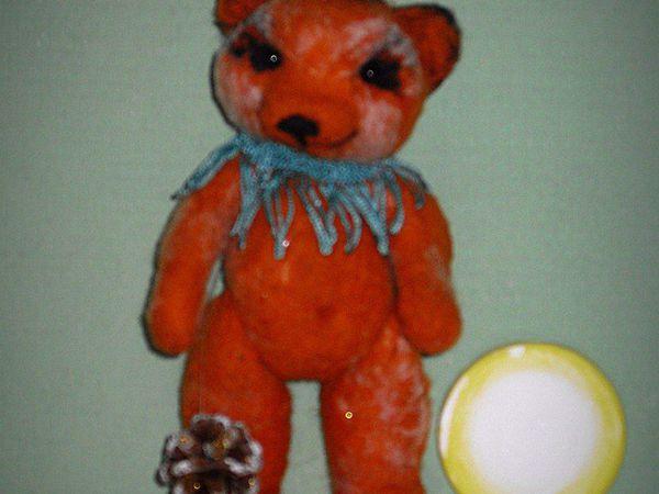 Медвежонок  Манюня | Ярмарка Мастеров - ручная работа, handmade