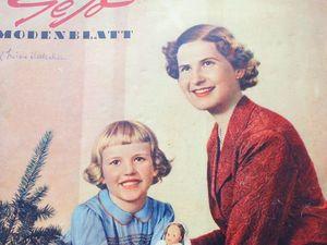 Старый журнал мод из Германии- 1955 год. Ярмарка Мастеров - ручная работа, handmade.