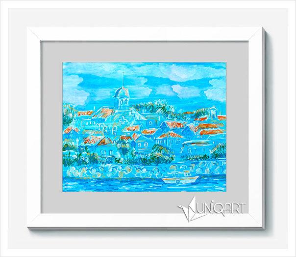 морская тема, картины, картина в подарок, купить картину, рисунок ручной работы