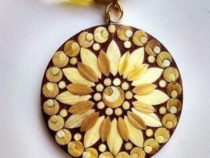 Авторская бижутерия из соломки. Ярмарка Мастеров - ручная работа, handmade.
