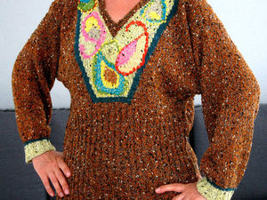Аукцион на пуловер Турецкие огурцы. Ярмарка Мастеров - ручная работа, handmade.