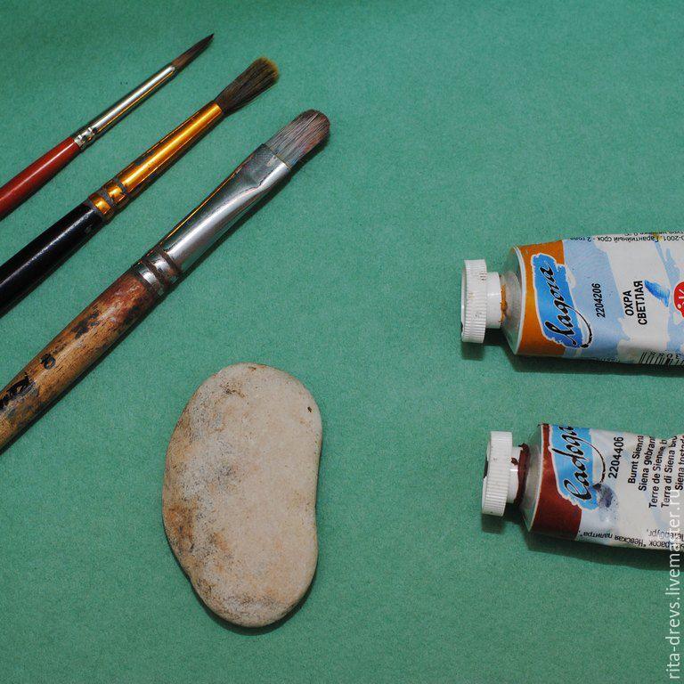 Как сделать из обычного камня обаятельного ёжика, фото № 1