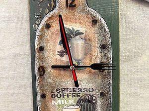 Бутылка-часы