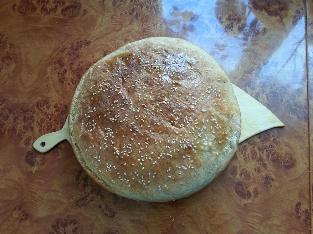 хлеб, хлеб домашний, хлеб из печки, русская печь