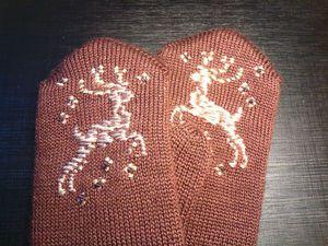 Варежки - тёплый подарок! | Ярмарка Мастеров - ручная работа, handmade