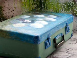 Срочный аукцион на Ретро-чемодан. Ярмарка Мастеров - ручная работа, handmade.