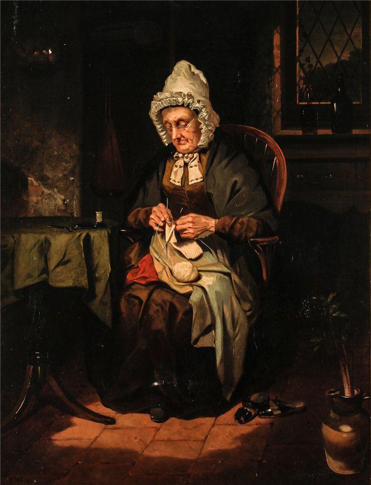 Когда есть чем заняться — стареть некогда: душевные картины о бабушках-рукодельницах, фото № 6