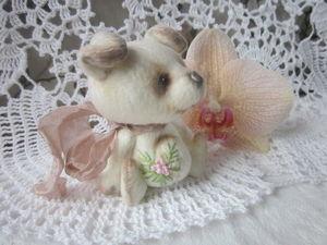Новосел магазина - маленькая собачка Лялька.. Ярмарка Мастеров - ручная работа, handmade.