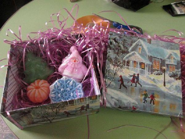 Теперь можно заказать новогодний набор в подарочной коробке! | Ярмарка Мастеров - ручная работа, handmade
