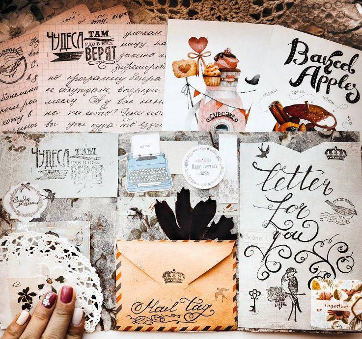 конверт, идеи для творчества