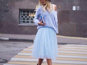 История воздушной фатиновой юбки. Ярмарка Мастеров - ручная работа, handmade.