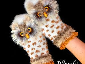 Снова в продаже полярные совы!. Ярмарка Мастеров - ручная работа, handmade.