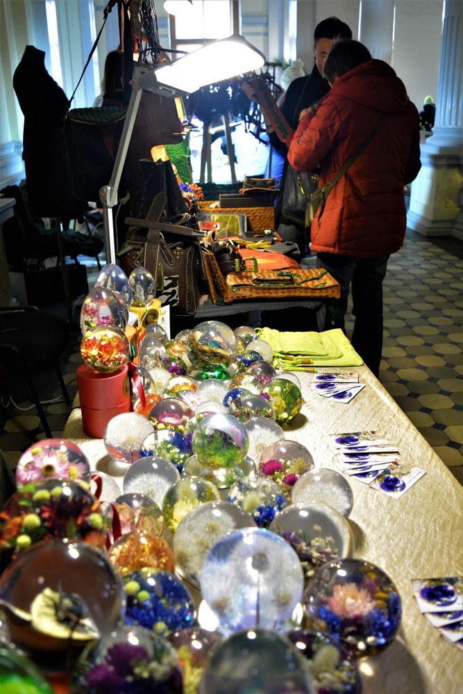 ярмарка в питере, стеклянный шар, ярмарка-продажа