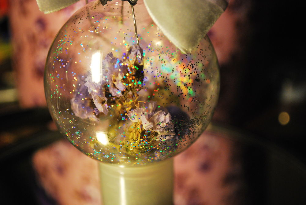 шар, новогодние украшения
