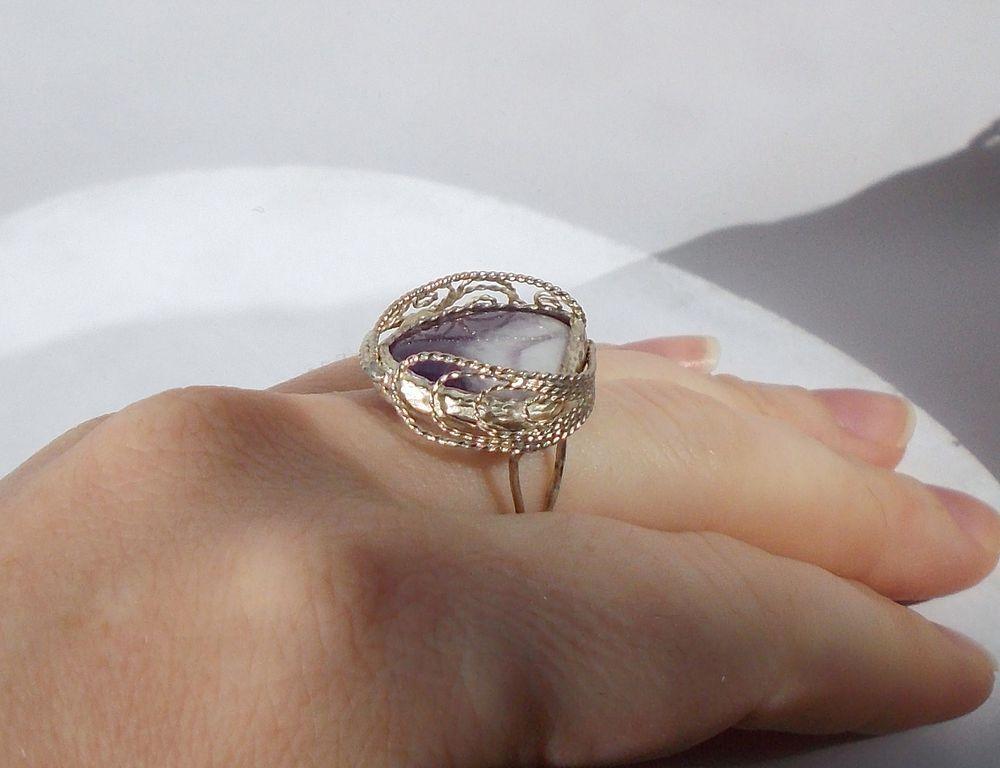 перстень с аметистом, купить кольцо с аметистом