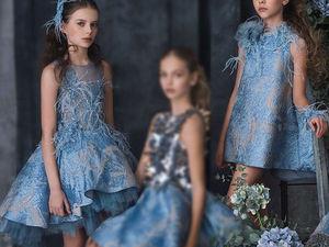 Самые нарядные платья для самых красивых девочек   Ярмарка Мастеров - ручная работа, handmade