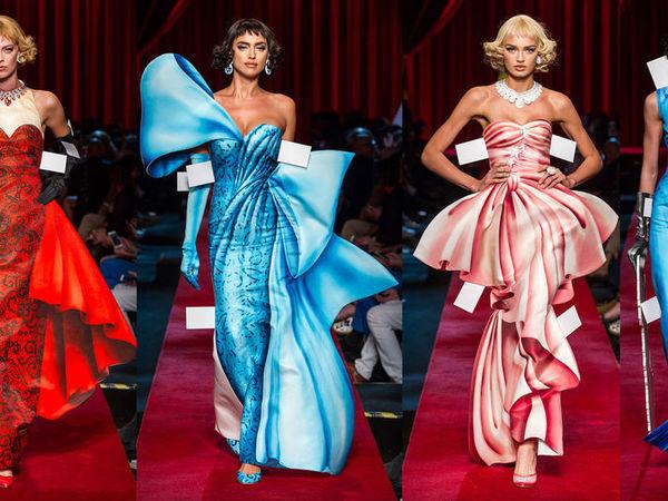 Jeremy Scott играет в бумажные куклы: экстравагантные наряды Moschino сезона весна-лето 2017 | Ярмарка Мастеров - ручная работа, handmade