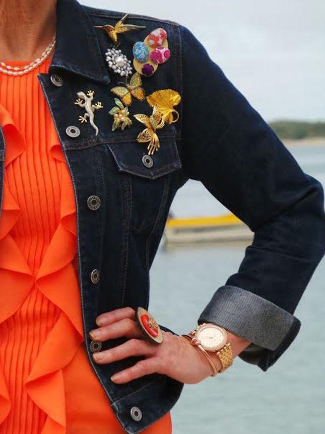 винтаж, брошь, винтажный стиль, винтажная брошь, винтажные украшения, как носить брошь, винтажная бижутерия