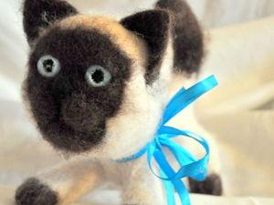 Котики хвостатые | Ярмарка Мастеров - ручная работа, handmade