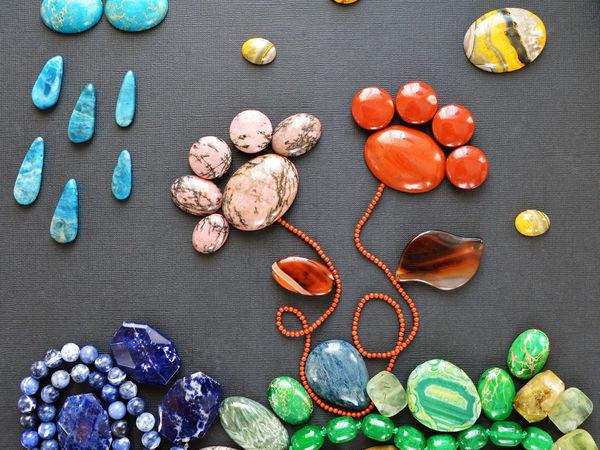 Камни со всего света   Ярмарка Мастеров - ручная работа, handmade
