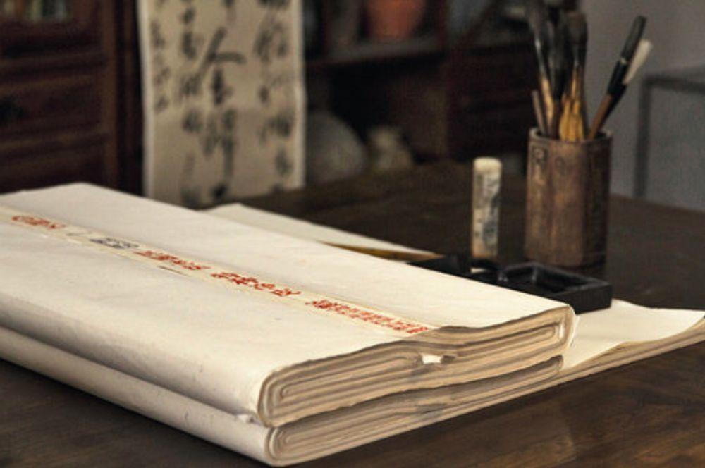 Четыре драгоценности кабинета ученого: рисовая бумага