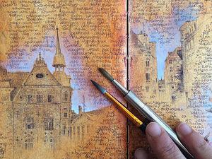 Путешествие в миниатюру: тонкая живопись Dina Brodsky. Ярмарка Мастеров - ручная работа, handmade.