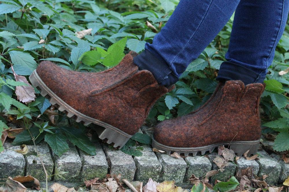 марина климчук, войлок для новичков, обувь своими руками