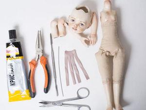 Создаем куклу в смешанной технике. Ярмарка Мастеров - ручная работа, handmade.
