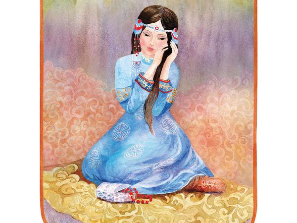 Иллюстрации. Легенды Байкала | Ярмарка Мастеров - ручная работа, handmade