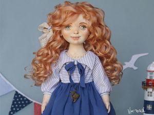 Текстильная кукла Тося. Ярмарка Мастеров - ручная работа, handmade.